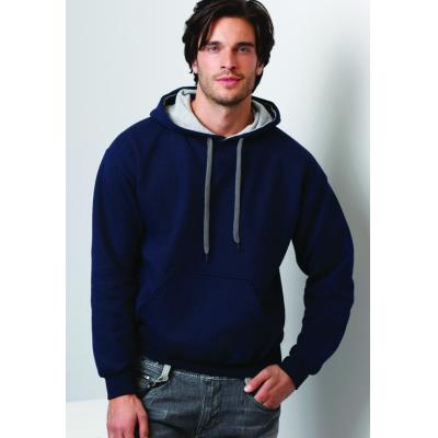 Image of Gildan Men's Heavy Contrast Hooded Sweatshirt