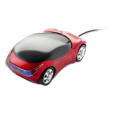 Image of Mouse in car shape