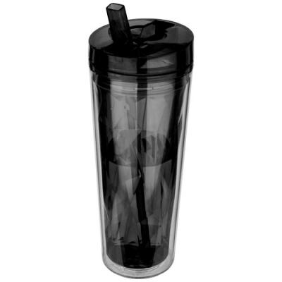 Image of Hot & Cold Flip n Sip geometric insulated tumbler
