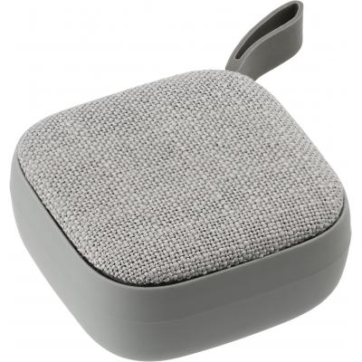 Image of ABS wireless speaker with linen